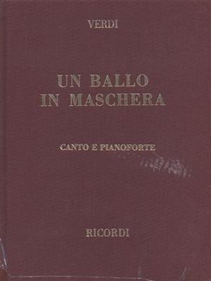 Verdi Giuseppe : BALLO IN MASCHERA