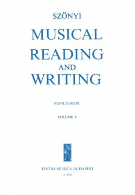 Musical Reading And Writing Vol.5 Solfège