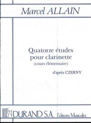 14 Etudes - Czerny