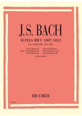 Bach Johann Sebastian : 6 SUITES PER VC. SOLO BWV 1007-1012