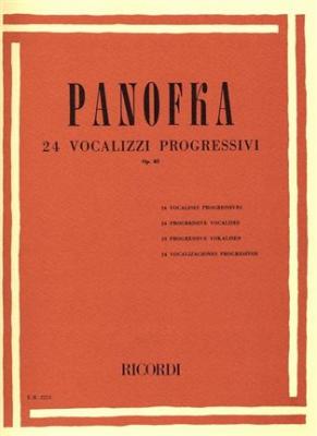 24 Vocalizzi Progressivi Op. 85 Nell'Estensione Di Un'Ottava E Mezza