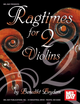 Brydern Benedikt : Ragtimes for Two Violins