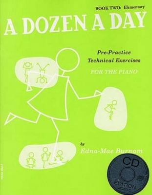 Dozen A Day Book 2 Cd's