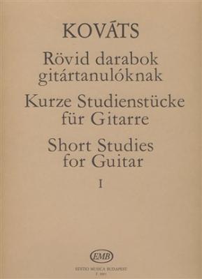 Short Studies For Guitar Vol.1