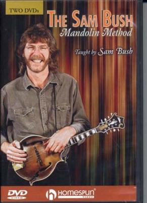 Dvd Bush Sam Mandolin Method