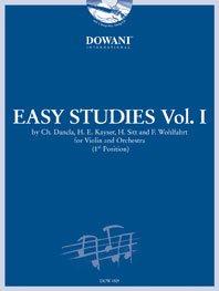 Easy Studies Vol.1 / Dancla, Kayser, Sitt Et Wohlfahrt - Violon And Orch.