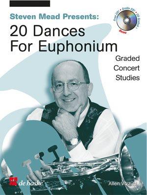 20 Dances For Euphonium / Baryton - Euphonium Clé De Fa