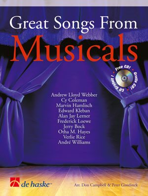 GREAT SONG FROM MUSICALS / Cor Fa ou Mib