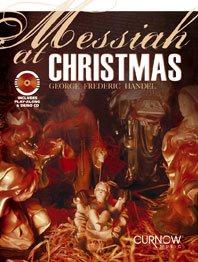 Haendel Georg Friedrich : MESSIAH AT CHRISTMAS / G.F. Handel - Trombone clé de fa et clé de sol