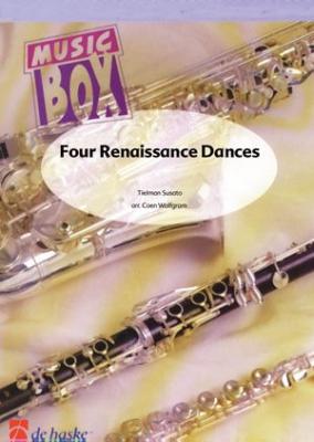 4 Renaissance Dances / Susato - Quatuor De Clarinettes