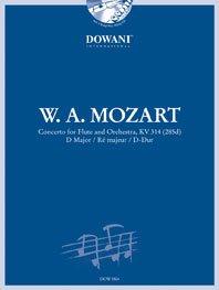 Mozart Wolfgang Amadeus : CONCERTO KV 314 Ré Majeur / W.A. Mozart - flûte et orch.