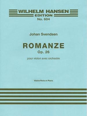 Svendsen Romanze Op. 26 Violon/Orchestre
