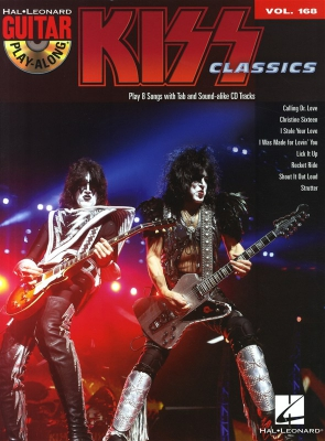 Kiss : Guitar Play-Along Volume 168: Kiss