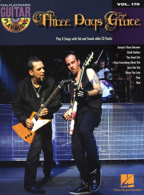 Three Day Grace : Guitar Play-Along Volume 170: Three Days Grace