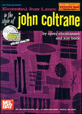 Christiansen Corey : Essential Jazz Lines: In the Style of John Coltrane, Bass Clef