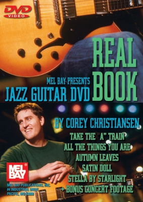 Christiansen Corey : Jazz Guitar DVD Real Book