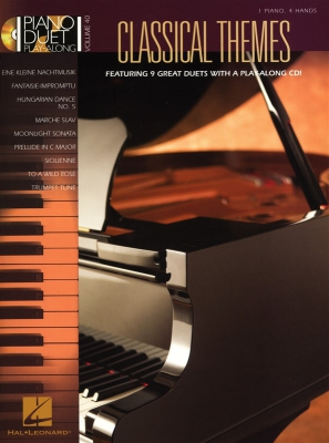 Piano Duet Play-Along Volume 40: Classical Themes