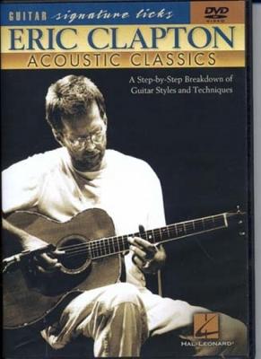 Dvd Clapton Eric Signature Licks Acoustic Classics