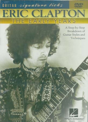 Dvd Clapton Eric Signature Licks Early Years