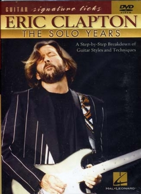 Dvd Clapton Eric Signature Licks Solo Years
