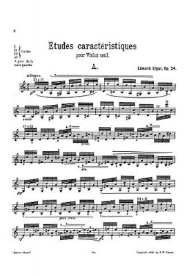 Etudes Caracteristiques Op. 24