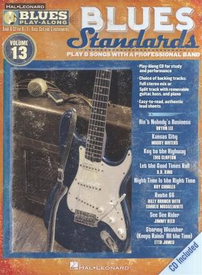 Blues Play Along Vol.13 : Blues Standards