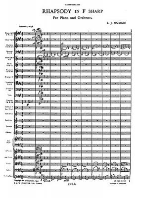 Rhapsody In F Sharp (Miniature Score)