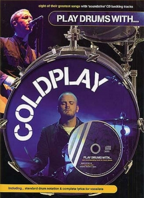 Coldplay : Coldplay Play Drums With Cd
