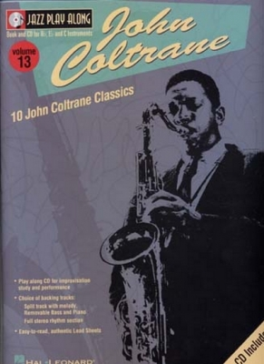 Coltrane John : Jazz Play Along Vol.13 Coltrane Bb, Eb, C Inst. Cd