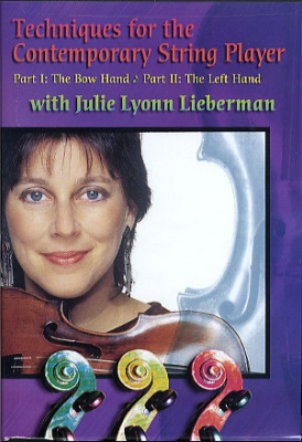 Dvd Techniques For The Contemporary String Player