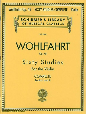 Wohlfahrt Franz : Franz Wohlfahrt - 60 Studies, Op. 45 Complete