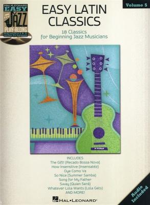 Easy Jazz Play Along Vol.5 : Easy Latin Classics