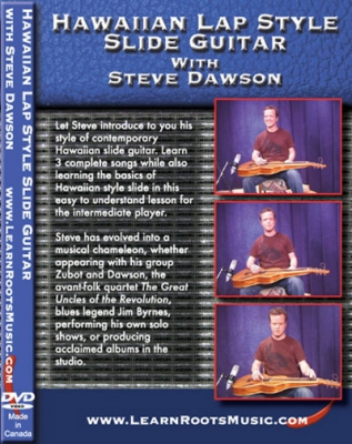 Hawaiian Lap Style Slide Guitar With Steve Dawson