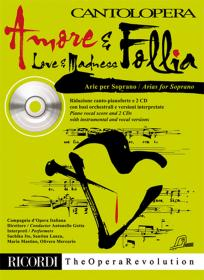 Arie Per Soprano - Amore E Follia