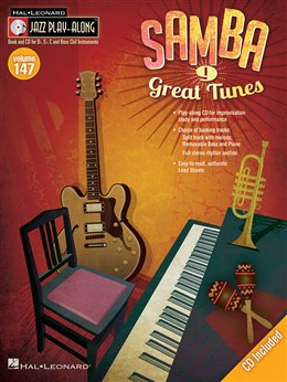 Jazz Play Along Vol.147 : Samba