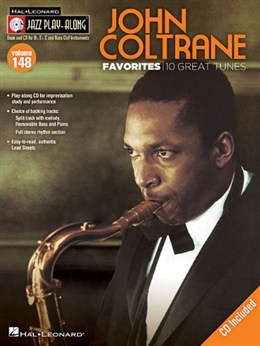 Coltrone John : Jazz Play-Along Volume 148: John Coltrane Favorites