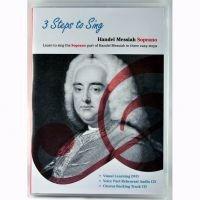 3 Steps To Sing: Handel Messiah (Dvd/2Cds) - Soprano Voice