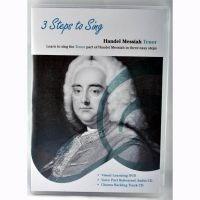 3 Steps To Sing: Handel Messiah (Dvd/2Cds) - Tenor Voice