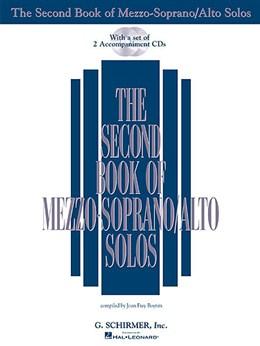 The Second Book of Mezzo-Soprano/Alto Solos (Book/2CDs)