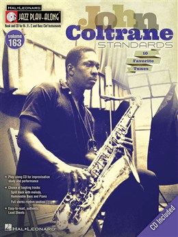 Coltrane John : Jazz Play-Along Volume 163: John Coltrane Standards