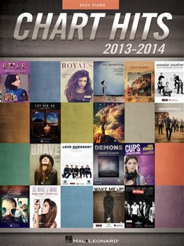 Chart Hits Of 2013-2014: Easy Piano Songbook P/V/G