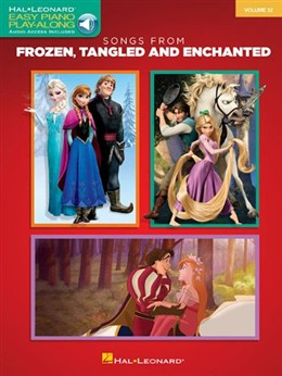 Easy Piano CD Play-Along Volume 32: Songs From Frozen, Tangled And Enchanted