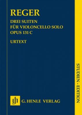 3 Suites Op. 131C For Violoncello Solo