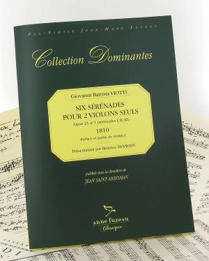 Bottesini Giovanni : Battista Six serenades en duo concertants for two violins, Opera 23