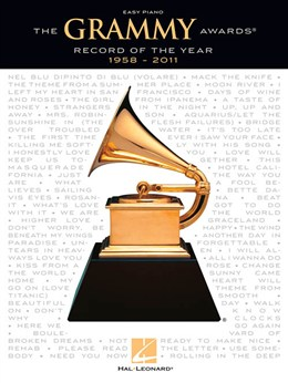 The Grammy Awards Record Of The Year 1958-2011 (Easy Piano)