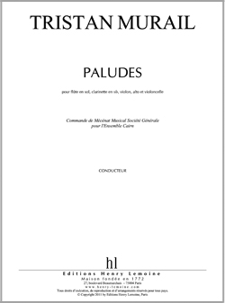 Murail Tristan : Paludes