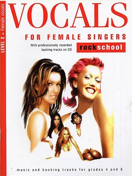 Rockschool Vocals For Female Singers - Level 2