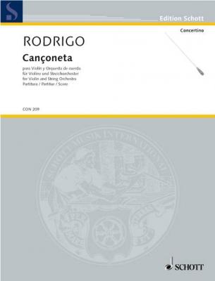 Rodrigo Joaquín : Cançoneta A major
