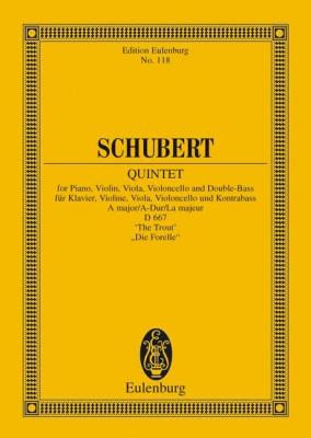 Schubert Franz : Quintet A major op. 114 D 667