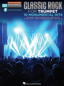 Trumpet Easy Instrumental Play Along : Classic Rock